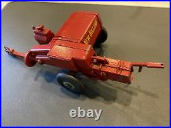 1960s Advanced Products New Holland Hayliner Baler, Missing Wheel