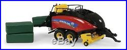 1/32nd New Holland Big Baler 340 with 3 Large Square Bales