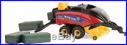 1/64 Ertl New Holland 340 Big Baler with4 Square Bales Diecast Age 3+ ERT13876