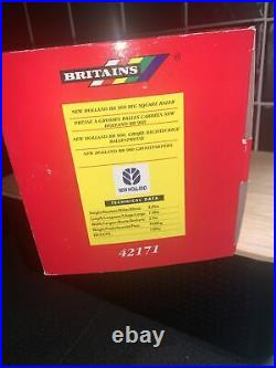 Britains 1.32 New Holland Bb 960 Big Square Baler Excellent Boxed 42171