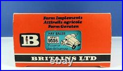 Britains 9556 Farm Tractor Implements New Holland 376 Hay Baler  Mint & Boxed