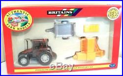 Britains Tractor And Implement Set Fiatagri And New Holland Baler