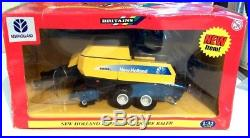 Britains Tractor Related New Holland 960 Big Baler With Bales Low Start Auction