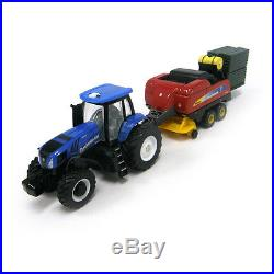 ERTL 164 NEW HOLLAND T8.275 Tractor withBB9060 Square Baler 2012 FARM SHOW