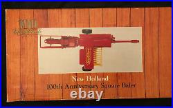 Hard to find ERTL New Holland 100th Anniversary Square Baler 1/16 in box