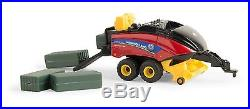 NEW HOLLAND 340 BIG SQUARE BALER With BALES 164 Scale ERTL