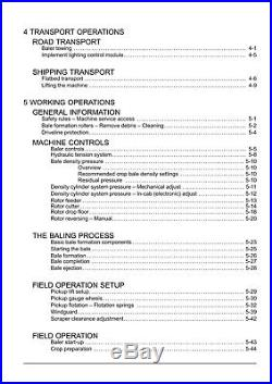 NEW HOLLAND ROLL-BELT 450 460 BALER SN YHN195127 and above OPERATORS MANUAL