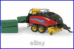 New Holland 340 Crop Cutter Big Baler with 3 Bales- 1-32 scale