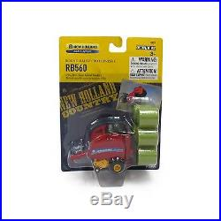 New Holland 560 Big Round Baler With 6- Bales 164 Scale Ertl New