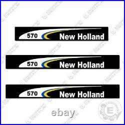 New Holland 570 Decal Kit Square Baler 7 YEAR 3M Vinyl Decal Upgrade