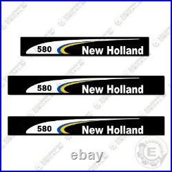 New Holland 580 Decal Kit Square Baler 7 YEAR 3M Vinyl Decal Upgrade