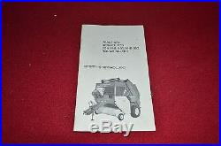 New Holland 846 851 852 Round Baler Practical Service Tips Manual MISC