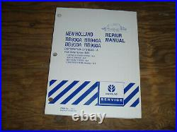 New Holland BB950A BB960A Baler Distribution Electrical Wiring Diagrams Manual