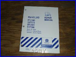 New Holland BR7060 BR7070 Round Baler Frame Electrical Wiring Diagrams Manual