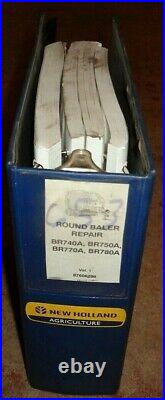 New Holland BR740A BR750A BR770A BR780A Round Baler Service Repair Manual OEM NH
