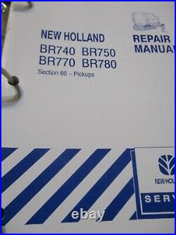 New Holland BR740, BR750, BR770, BR780 Round Baler Repair Manual 2005