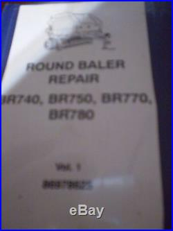 New Holland BR740, BR750, BR770, BR780 Round Balers Repair Manual 2003