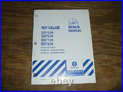 New Holland BR770A BR780A Round Baler Electrical Wiring Diagrams Manual