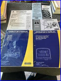 New Holland Bale Command Plus for BR7060 Round Baler Owner Operator Manual