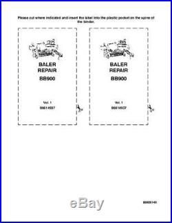 New Holland Bb900 Baler Complete Service Manual