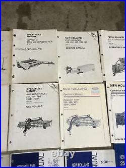 New Holland FORD Implements Operator's Manuals Lot Of 25 Balers Rakes Tedder