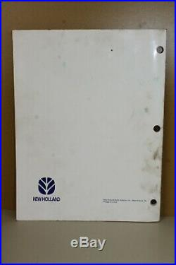 New Holland Operator's Manual Bale Command Plus #86565197 7/98