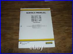 New Holland Roll-Belt 450 460 Round Baler Electrical Wiring Diagrams Manual