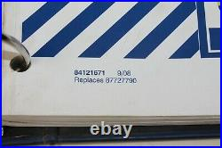 New Holland Round Baler Repair BR7060 BR7070 BR7080 BR7090 #84121668 4 Manuals
