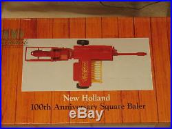 New Holland Sperry 100th Anniversary Square Baler 1/16 Nib Ertl 1995 Made In USA