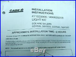 New Holland Square Baler Light Kit-570,875,580,585 others-Field and Road Kit