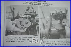 New Holland Twine Knotter Small Square Hay Baler Service Manual 273 269 310 315