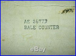 New John Deere Bale Counter Kit Square and Round balers New Holland Made in USA