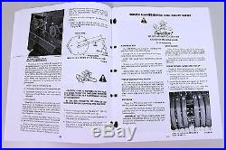 Set Sperry New Holland 315 Hayliner Baler Owners Operators Parts Manual Catalog