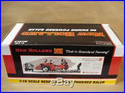 Speccast 1/16 Scale Diecast New Holland Resin 66 Engine Powered Baler