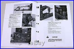 Sperry New Holland 315 Hayliner Baler Owners Operators Manual Maintenance