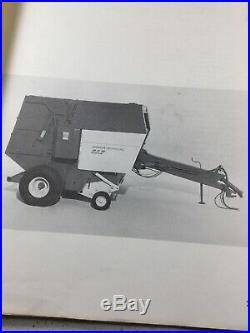Sperry, New Holland 858 Baler Parts Manual