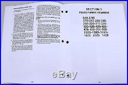 Sperry New Holland Square Baler Service Manual 310 311 315 316 320 326 420 425