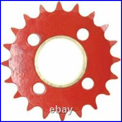 Sprocket Driven With Bushing Starter Roll Compatible with New Holland 664 658