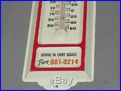 Vintage NEW HOLLAND Tractor Baler Sales advertising wall Thermometer RARE
