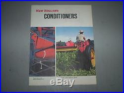 Vintage New Holland Haybine Balers Mower-Conditioners Sales Brochures Lot of 5